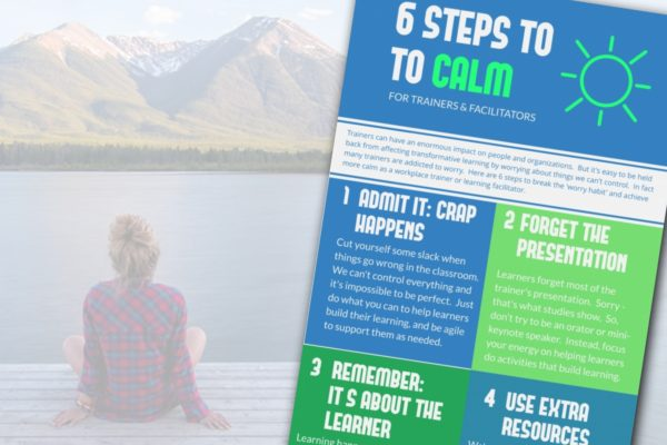 6 Steps to Calm for Trainers