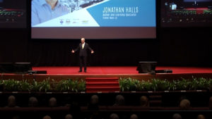 Jonathan Halls keynote