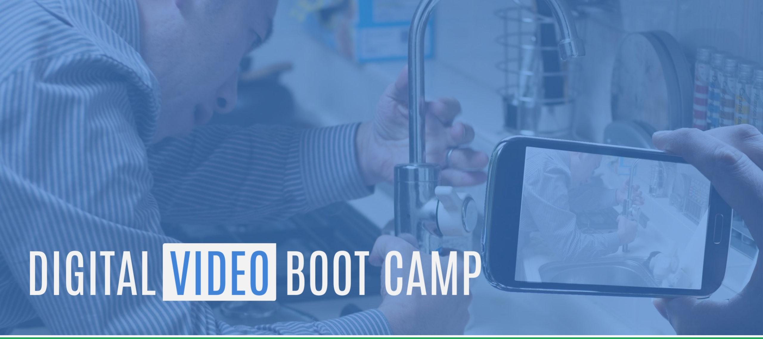 Video Boot Camp Jonathan Halls